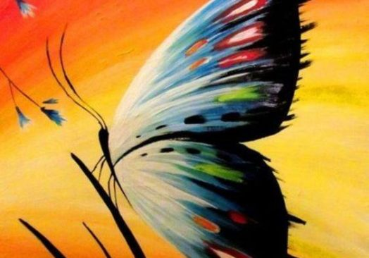 Пърхащата пеперуда