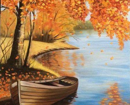 Есен с лодка