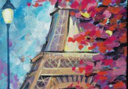 Париж – рисуване онлайн