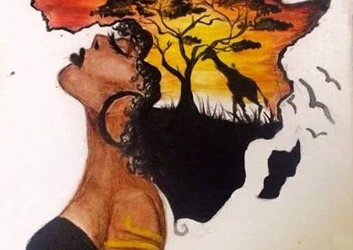 Queen of Africa – рисуване онлайн