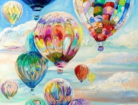 Цветовете на Кападокия – рисуване онлайн