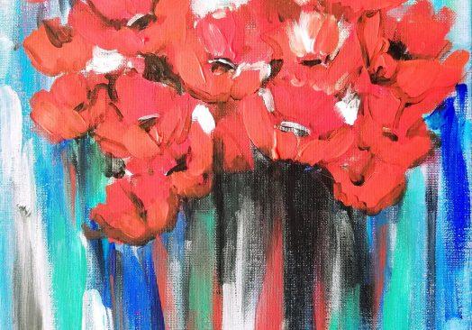 Магическото цвете – рисуване онлайн